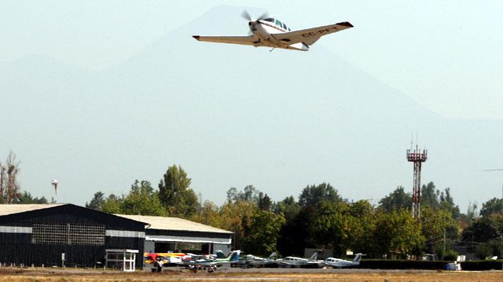 Línea de alta tensión impide volar en aeródromo Peldehue: Cambiarla es más caro que el nuevo recinto