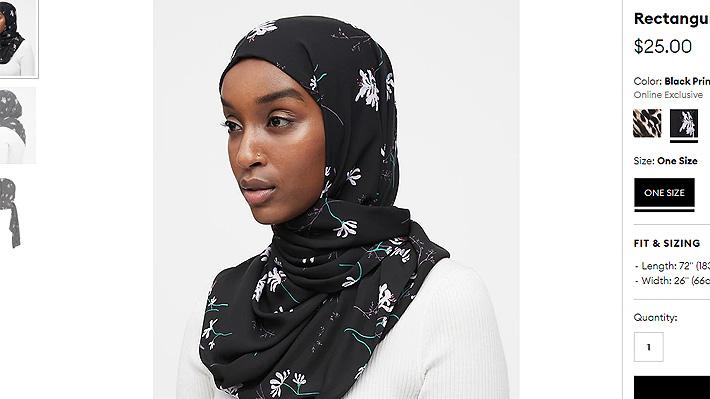 ¿Inclusión o apropiación?: Conocida marca de ropa es cuestionada por su nueva línea de Hijab