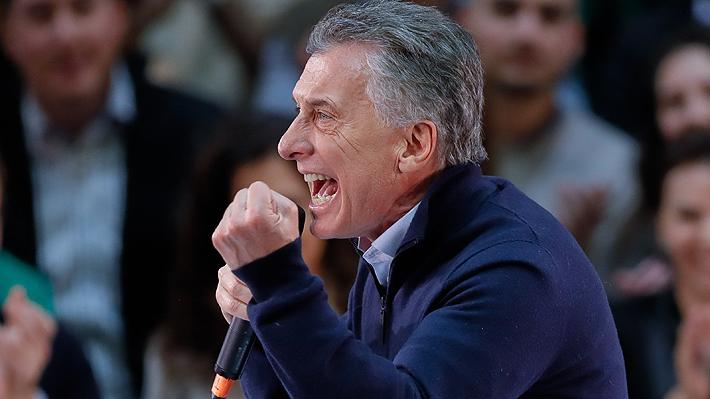 """Un enérgico Macri pide a los electores """"seguir transformando"""" la Argentina """"del futuro"""""""
