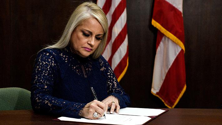 Wanda Vázquez jura como gobernadora de Puerto Rico tras fallo del Supremo