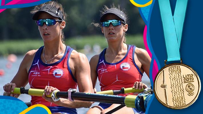 Resultado de imagen para Las hermanas Abraham le dan a Chile su sexto oro en Lima 2019