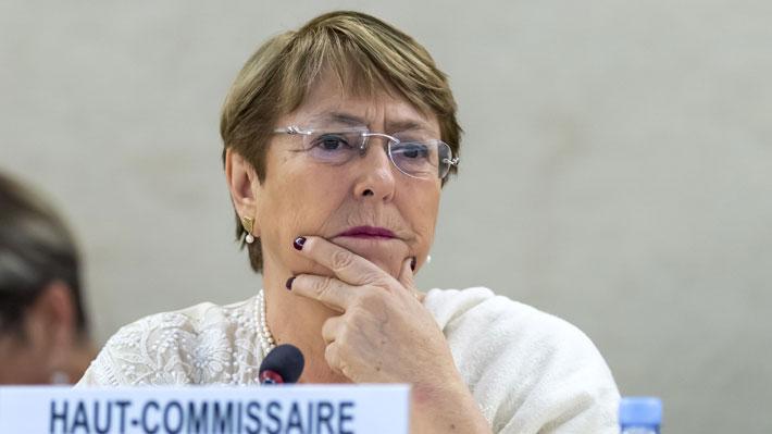 Bachelet condena sanciones económicas de EE.UU. a Venezuela y cree que pueden agravar la crisis