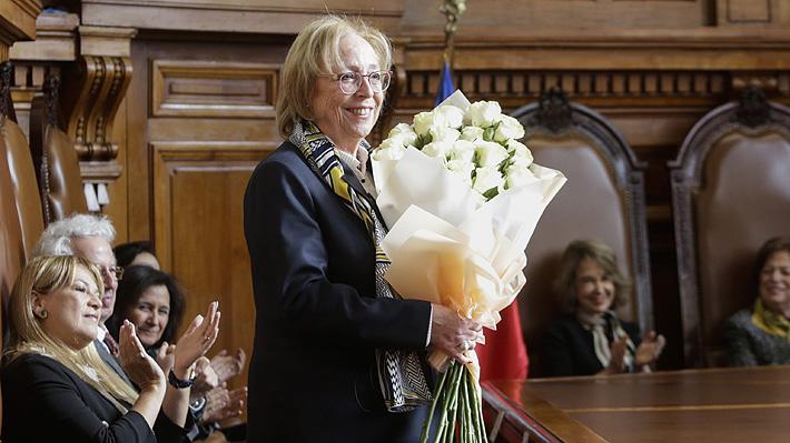 María Angélica Repetto jura como nueva ministra de la Corte Suprema y asume cupo que dejó Milton Juica