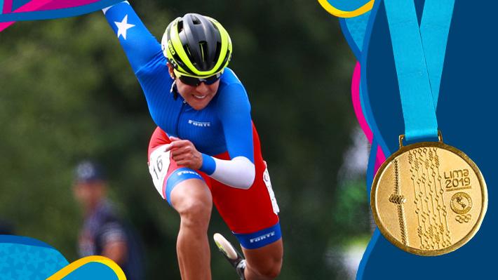 Rompió la historia...  María José Moya le da a Chile su 9° oro en Lima y se logra la mejor participación en unos Panamericanos