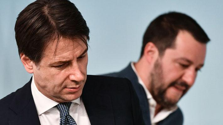 Diferencias y la jugada de Salvini: Las causas que gatillaron el quiebre de la alianza de Gobierno en Italia