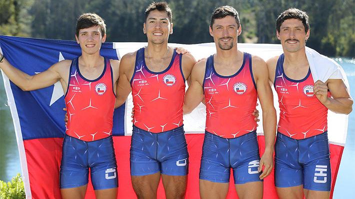 El décimo y undécimo oro de Chile llegaron de la mano del remo, deporte que se alza como el más ganador en estos JJ.PP.