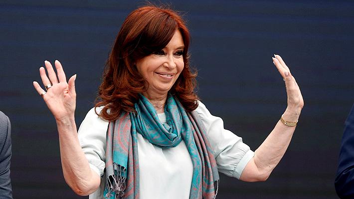 """Cristina Fernández: """"Nos pone optimistas que decidan que las cosas deben cambiar en la Argentina"""""""