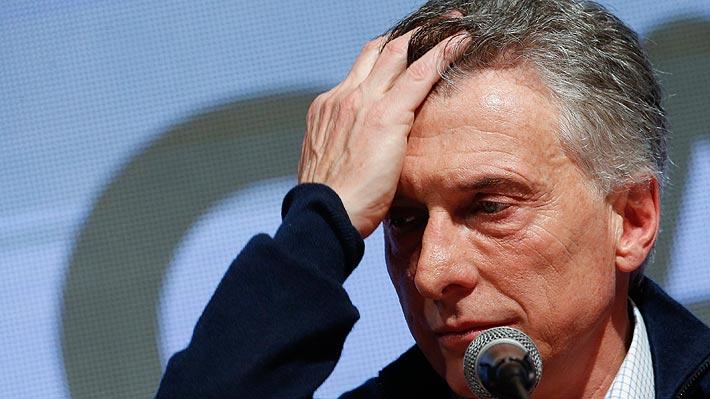 Eurobonos argentinos se desploman tras dura derrota de Macri en las primarias