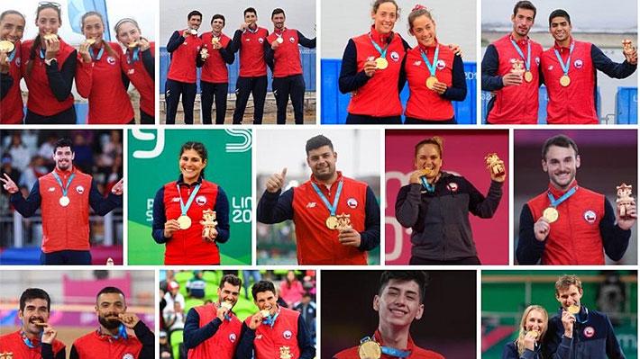 Los hitos y marcas que rompió Chile con su notable e histórica actuación en los Panamericanos 2019