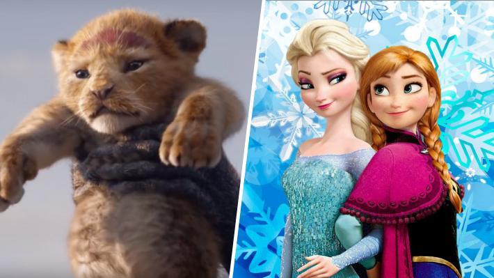 """Nueva versión de """"El Rey León"""" supera a """"Frozen"""" como la película de animación más taquillera de la historia"""