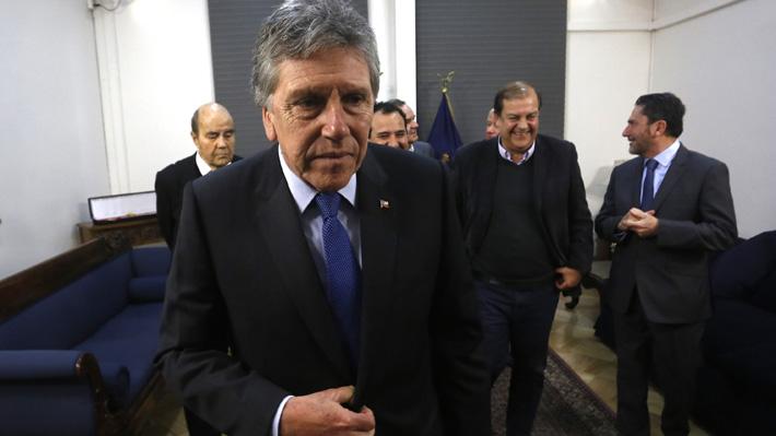 """Espina asegura que general Martínez le señaló que escuchas telefónicas se hicieron """"en el marco de lo legal"""""""