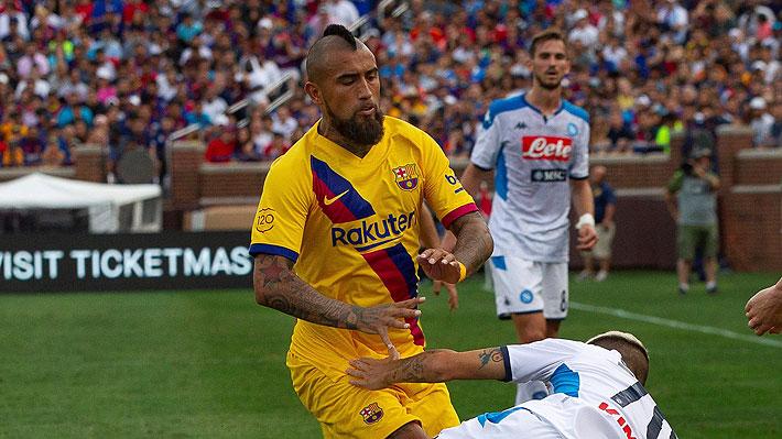 Lo difícil que será para Vidal arrancar como titular con el Barcelona en el inicio de la Liga española