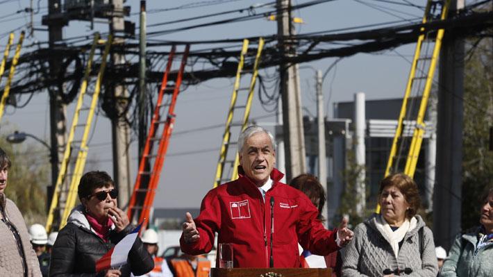 """Piñera dice que proyecto de flexibilidad se debe aplicar en forma """"gradual"""" para no afectar empleos y salarios"""