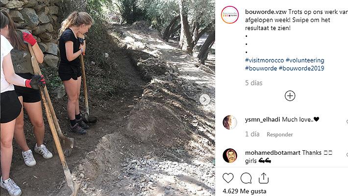Jóvenes belgas que trabajaban como voluntarias reciben amenazas de muerte por usar shorts en Marruecos