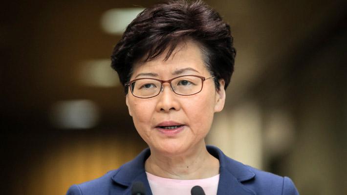 """Jefa de Gobierno de Hong Kong: """"La violencia, ya sea su uso o su justificación, nos llevará por un camino sin retorno"""""""
