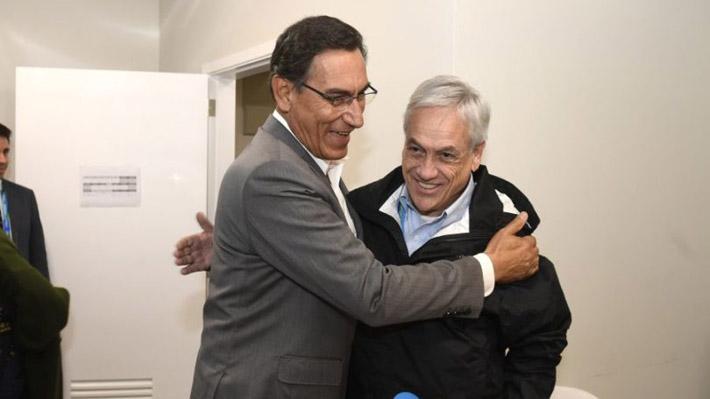 """Presidente Piñera propone exportación de pisco conjunta con Perú: """"Hay que buscar una forma de entendernos"""""""