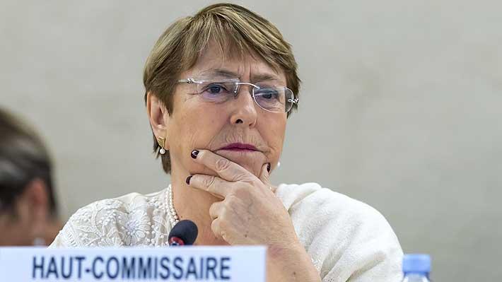 """Bachelet cuestiona la represión policial en Hong Kong y pide una investigación """"inmediatamente"""""""