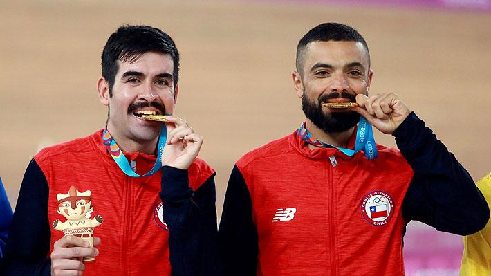 Ciclistas chilenos que ganaron oro en Lima arriesgan perder sus medallas