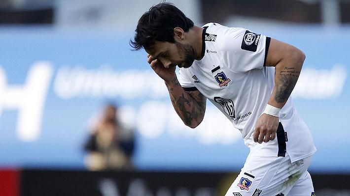 Severo informe por graves insultos complica aún más el futuro de Jorge Valdivia en Colo Colo