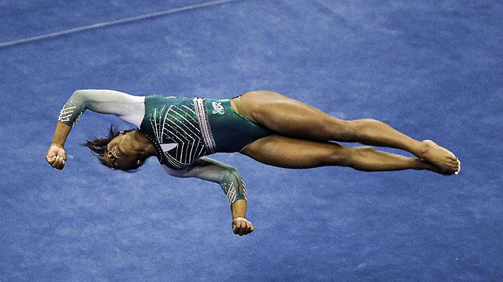 Los detalles de cómo se gestó el espectacular salto con que Simone Biles hizo historia en la gimnasia