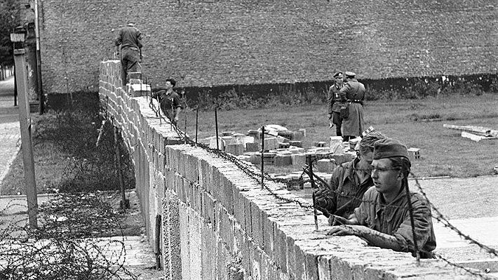 Galería: A 58 años de la construcción del muro de Berlín y el inicio de 10.680 días de división