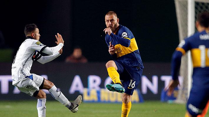 Video: El italiano De Rossi debutó con un gol en Boca, que fue eliminado por un equipo de la B en la Copa Argentina