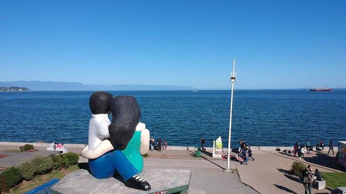 Sitio para participar en votación por polémica escultura de Puerto Montt presenta problemas por alta demanda