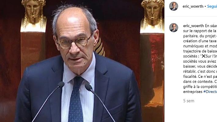 Político francés fue blanco de burlas tras publicar una foto escalando en los Alpes: lo acusan de retocarla