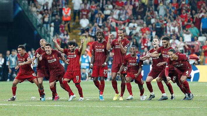 Liverpool derrota en penales al Chelsea y se consagra como campeón de la Supercopa de Europa