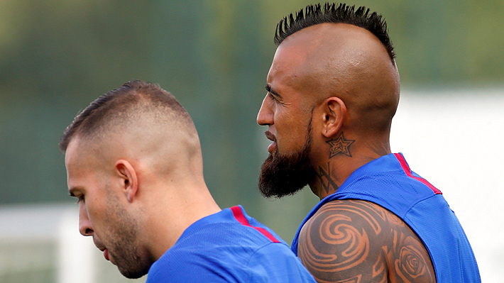 Arturo Vidal no fue considerado para el debut del Barcelona en la liga española