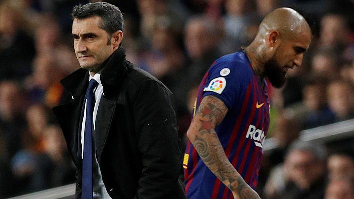 """Crecen con fuerza los rumores de la posible salida de Arturo Vidal del Barcelona: """"No tiene cabida en el equipo"""""""