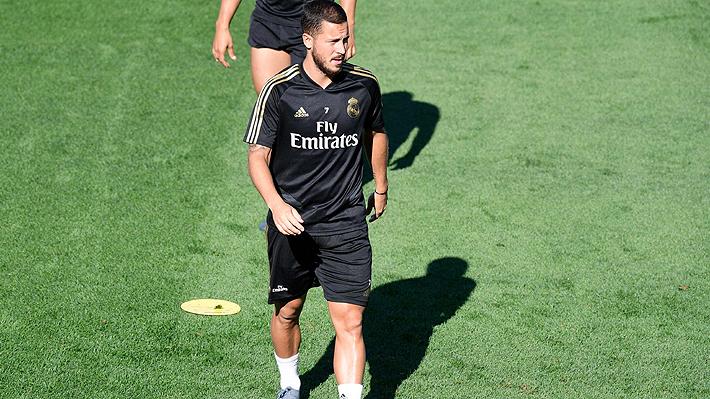 Problemas para Zidane... Hazard se lesiona y no estará en el primer partido de Liga del Real Madrid