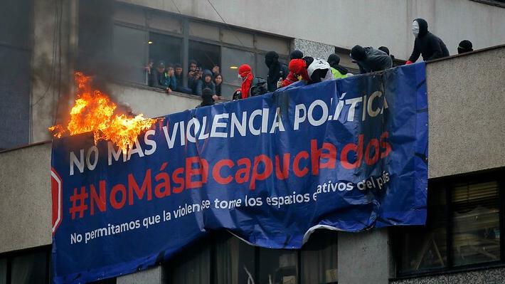 Instituto Nacional: Las medidas que ha tomado Alessandri en su intento por frenar la violencia