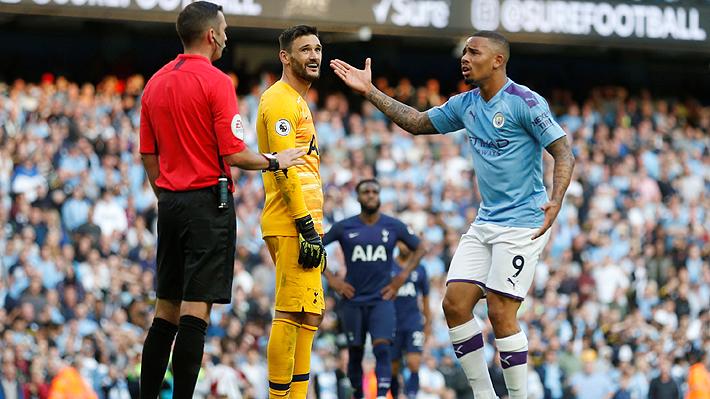En un cierre con polémica, el City sin Bravo resignó un empate ante Tottenham en un partidazo por Premier