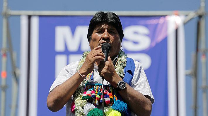 """Evo Morales arranca su campaña electoral y dice que no quiere para Bolivia """"lo que está ocurriendo en Argentina"""""""