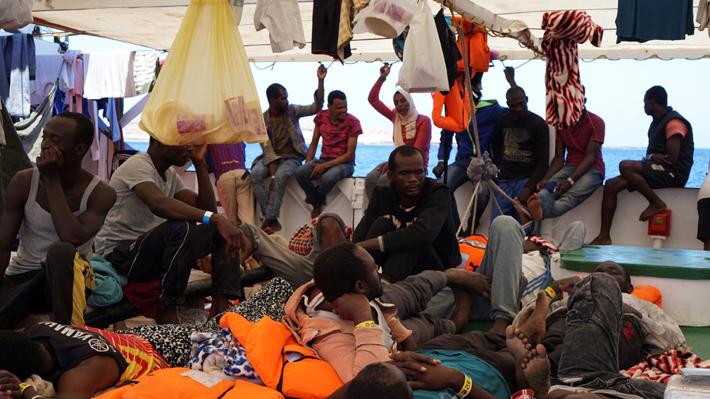 Francia acogerá a 40 inmigrantes del Open Arms cuando desembarquen
