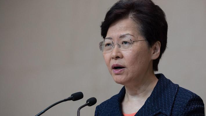"""Gobierno de Hong Kong anuncia una """"plataforma de diálogo"""" para """"escuchar lo que la gente tenga que decir"""""""