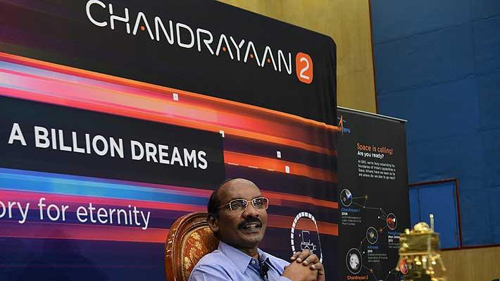 La sonda india Chandrayaan-2 alcanza con éxito la órbita lunar