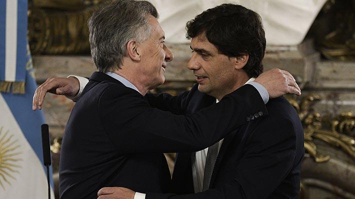 Hernán Lacunza juró como nuevo ministro de Hacienda y Macri le pide que sus decisiones cuiden a los argentinos