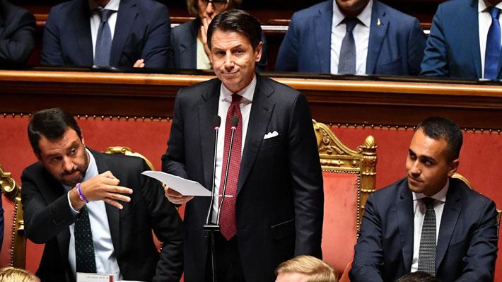 Primer ministro de Italia anuncia su dimisión tras quiebre de coalición de Gobierno