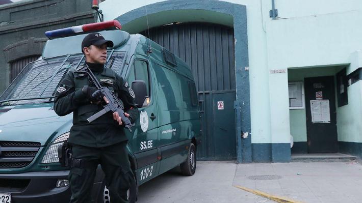 """El pabellón de """"máxima seguridad"""" en el que está recluido Hernández Norambuena en la CAS"""