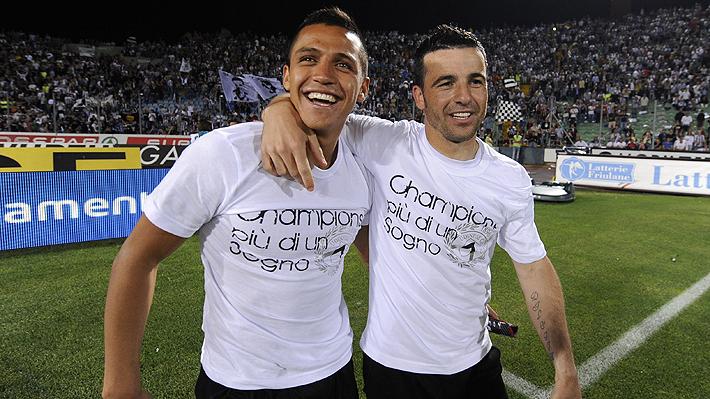 """Ex compañero de Alexis en Udinese cree que """"Inter es el club correcto para un relanzamiento"""" y que """"marcará muchos goles"""""""