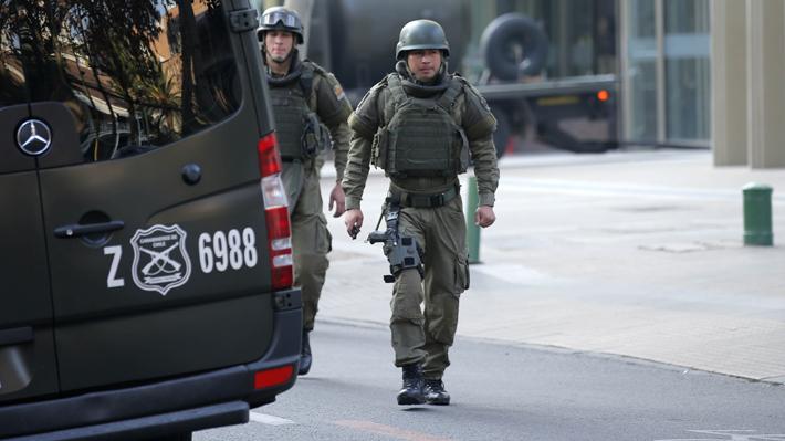 Fiscalía investiga intento de atentado explosivo en acceso de cuartel de la PDI en Chillán
