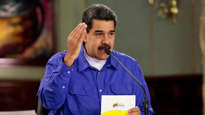 """Maduro confirma contactos entre su gobierno y altos funcionarios de EE.UU. """"para buscar regular este conflicto"""""""