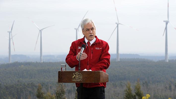 Piñera llama a aprobar modernización tributaria y dice que los compromisos en materia económica se están cumpliendo