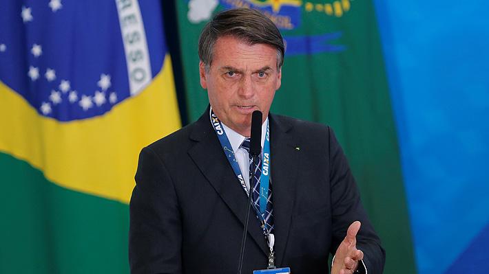 Cuestionan a Bolsonaro por decir que incendios en la Amazonía habrían sido causados por ONGs