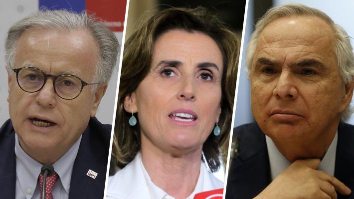 Santelices, Chadwick y Cubillos: Los intentos de la oposición por destituir a ministros de Piñera