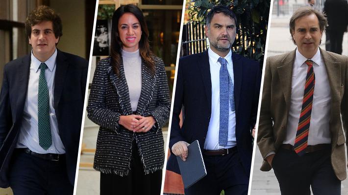 """Chile Vamos denuncia """"improvisación"""" y """"falta de argumentos"""" en acusación constitucional del PS y respalda gestión de Cubillos"""