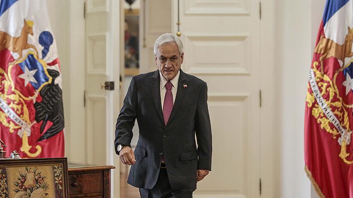 Piñera se reúne con presidentes de la Cámara y del Senado en medio de tensión por choque entre Pérez y el PS