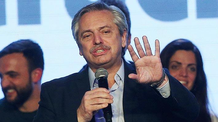 """Candidato Alberto Fernández: """"Argentina no tiene posibilidad de caer en default si soy Presidente"""""""